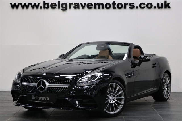 used Mercedes SLC300 AMG LINE HUGE SPEC AIRSCARF TAN LEATHER STUNNING ROADSTER 47+MPG in sheffield