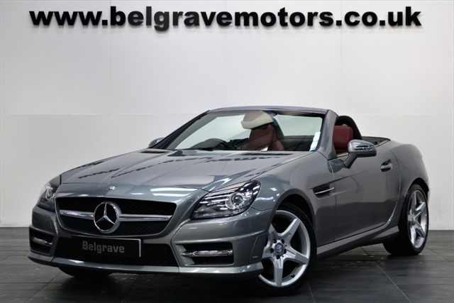 used Mercedes SLK250 SLK250 CDI BLUEEFFICIENCY AMG SPORT in sheffield