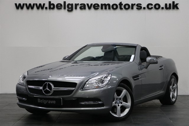 used Mercedes SLK250 CDI BLUEEFFICIENCY GREAT SPEC FULL LEATHER HEATED SEATS AIR SCARF in sheffield