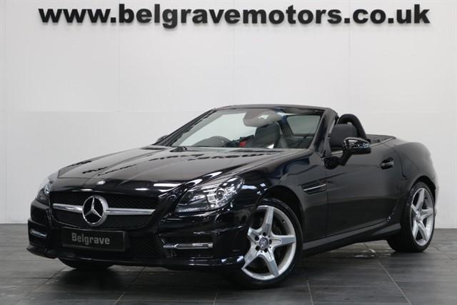 used Mercedes SLK250 CDI BLUEEFFICIENCY AMG SPORT in sheffield