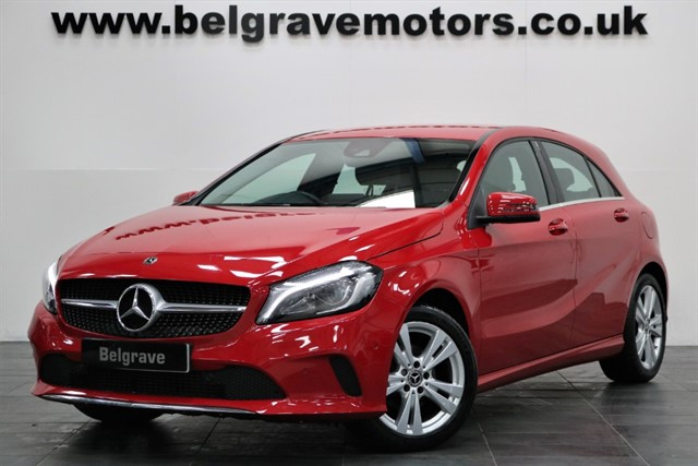 used Mercedes A180d A 180 D SPORT PREMIUM HUGE SPEC SAT NAV XENONS HEATED LEATHER 5DR 72+MPG in sheffield