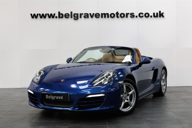 used Porsche Boxster 24V PDK AUTO HEATED LEATHER NEW MODEL- RESERVED in sheffield