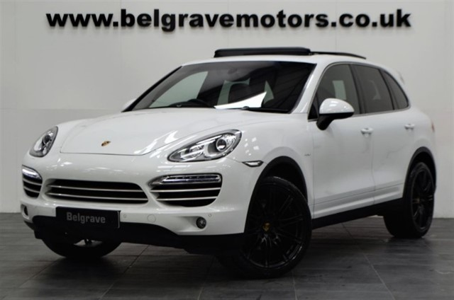 used Porsche Cayenne PLATINUM EDITION D V6 TIPTRONIC PAN ROOF 21