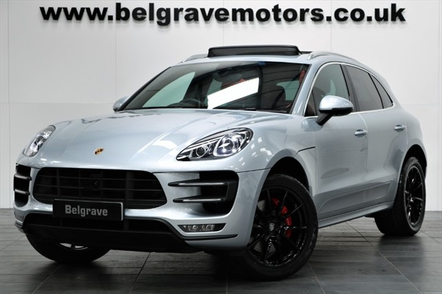 used Porsche Macan TURBO PDK HUGE SPEC PAN ROOF SPORT CHRONO 400 BHP 4X4 in sheffield