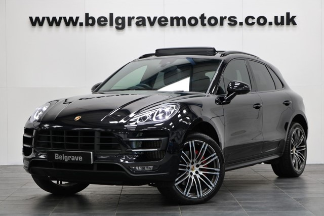 used Porsche Macan TURBO PDK PAN ROOF 21