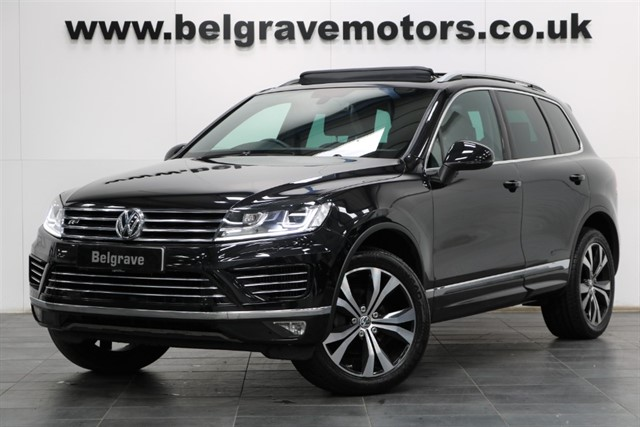 used VW Touareg V6 R-LINE TDI BLUEMOTION TECHNOLOGY PAN ROOF SAT NAV in sheffield