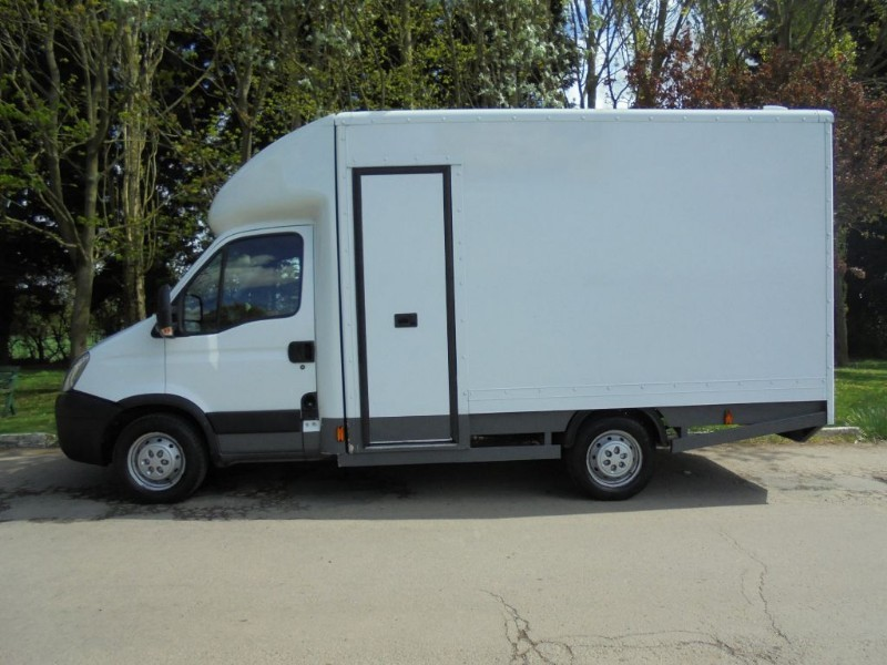 used white iveco daily for sale essex. Black Bedroom Furniture Sets. Home Design Ideas