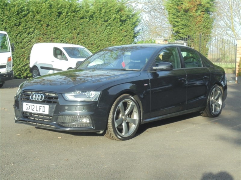 used Audi A4 TDI S LINE BLACK EDITION in chelmsford-essex
