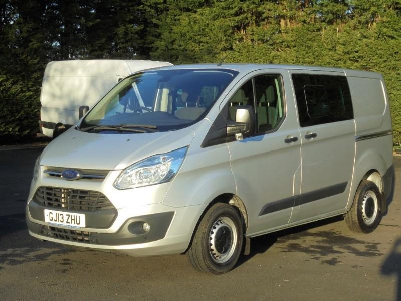 used Ford Transit Custom 310 L1 TREND D/CAB 125PSI in chelmsford-essex