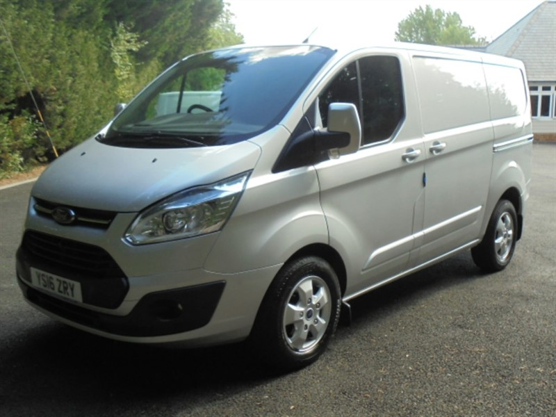 used Ford Transit Custom 270 LIMITED LR P/V in chelmsford-essex