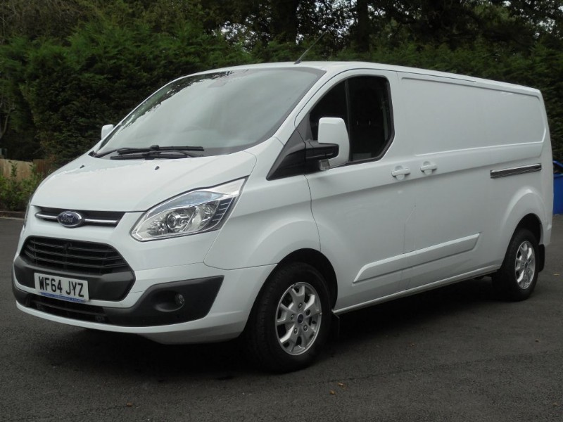 used Ford Transit Custom 290 L2 H1 LIMITED 155 LWB in chelmsford-essex