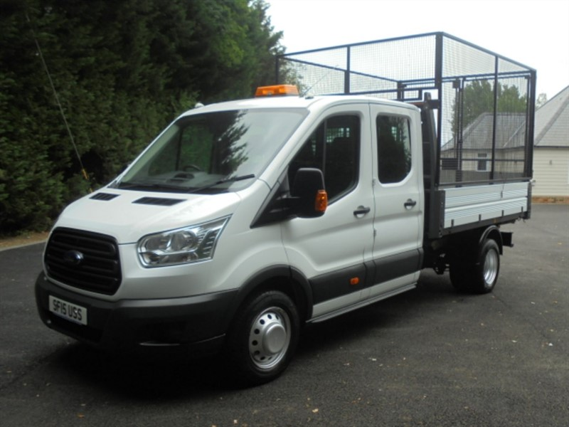 used Ford Transit 350 D/CAB DRW 155PSI in chelmsford-essex