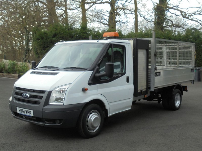 used Ford Transit 350 DRW CAGED TIPPER WITH TOOLBOX in chelmsford-essex
