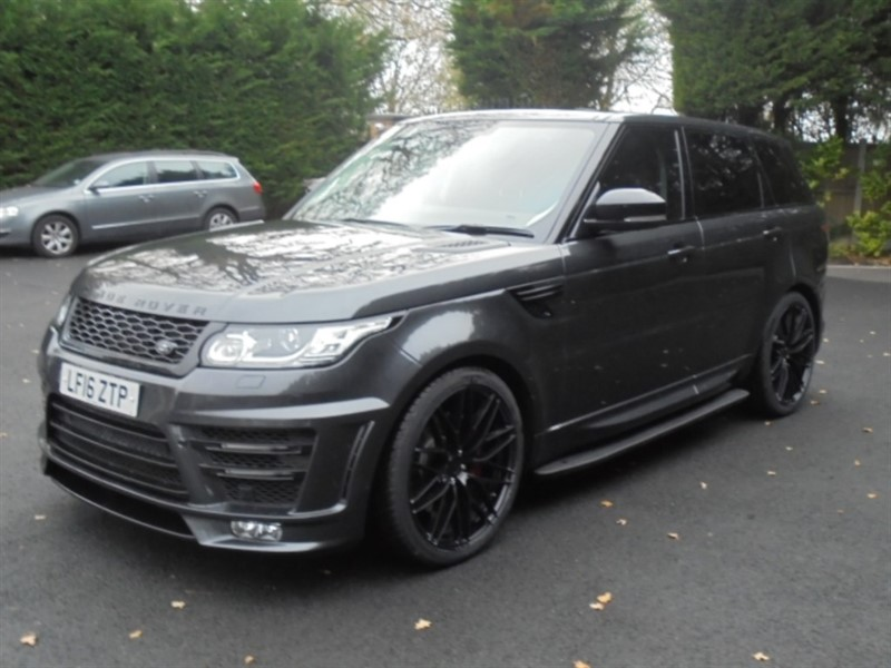 used Land Rover Range Rover Sport SDV6 HSE in chelmsford-essex