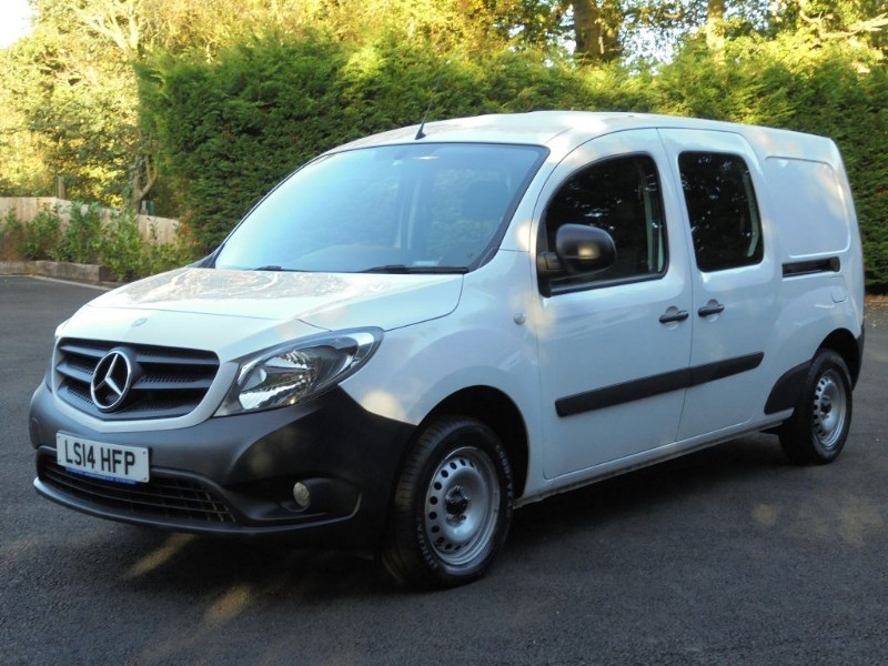used Mercedes Citan 109 CDI DUALINER in chelmsford-essex