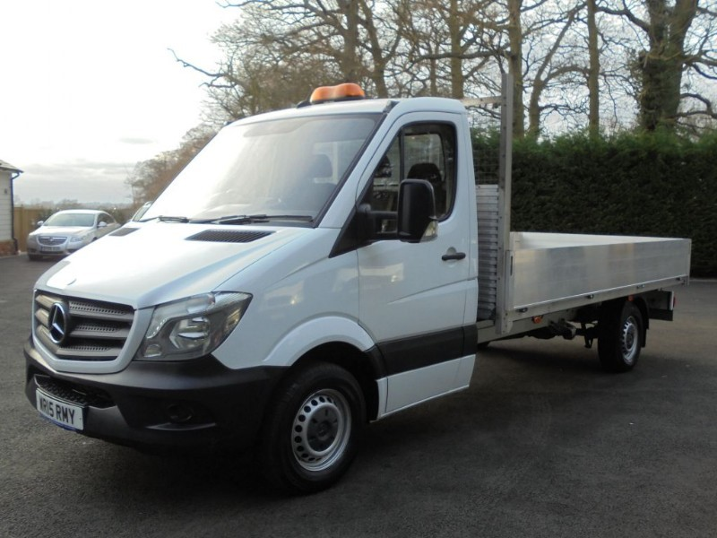 used Mercedes Sprinter 313 CDI LWB WITH ALLOY SIDES in chelmsford-essex