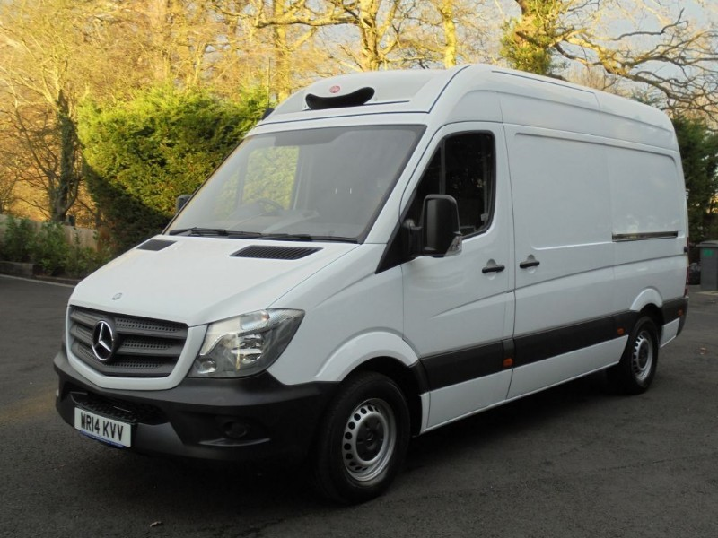 used Mercedes Sprinter 313 CDI MWB WITH BLUETOOTH AND CRUISE in chelmsford-essex
