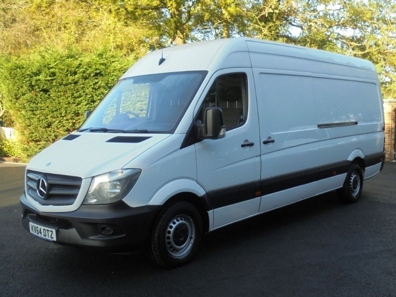 used Mercedes Sprinter 313 CDI LWB WITH BLUETOOTH AND CRUISE in chelmsford-essex