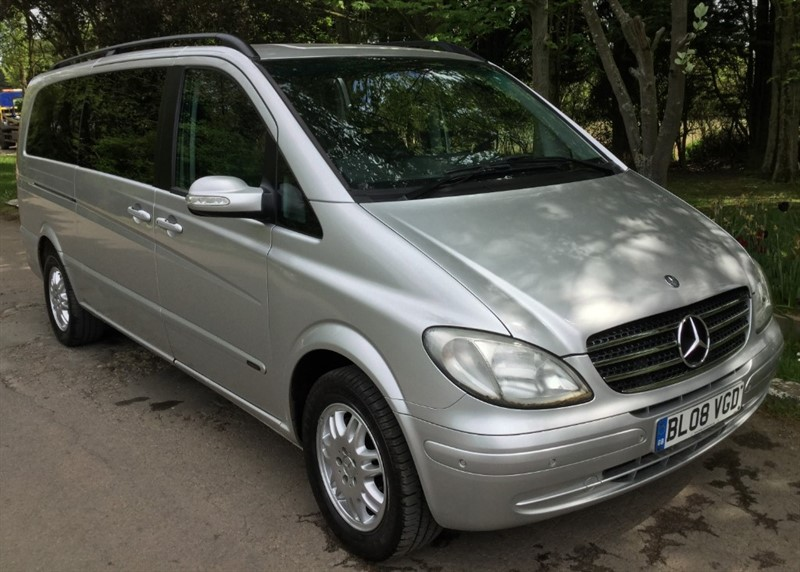 used Mercedes Viano CDI EXTRA LONG AMBIENTE in chelmsford-essex