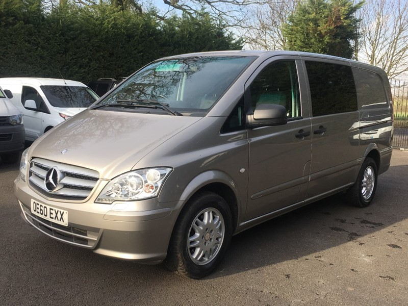 used Mercedes Vito 122 CDI DUALINER in chelmsford-essex