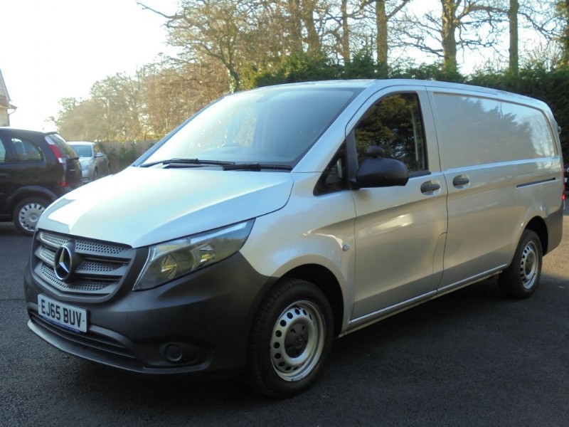 used Mercedes Vito 111 CDI Long With Bluetooth And Cruise in chelmsford-essex