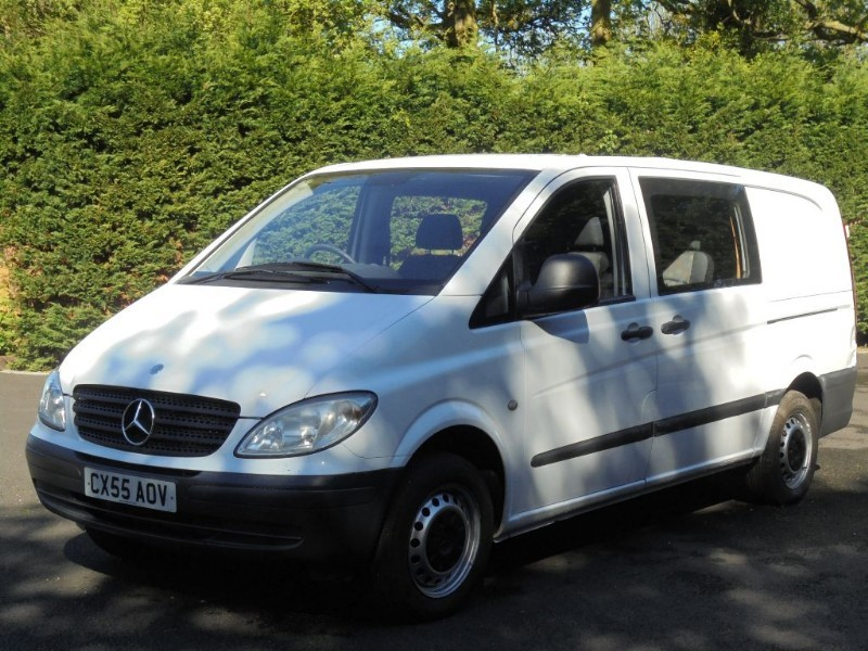 used Mercedes Vito 111 CDI LONG SWB in chelmsford-essex