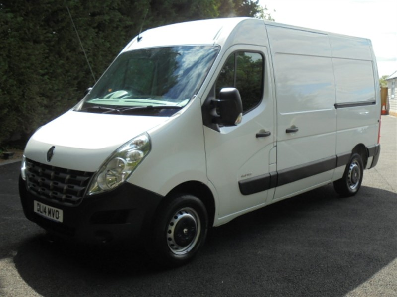 used Renault Master MM35 DCI S/R P/V EXTRA in chelmsford-essex
