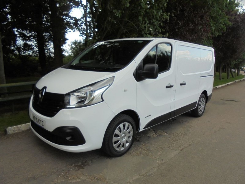 used Renault Trafic SL27 BUSINESS PLUS DCI S/R P/V in chelmsford-essex