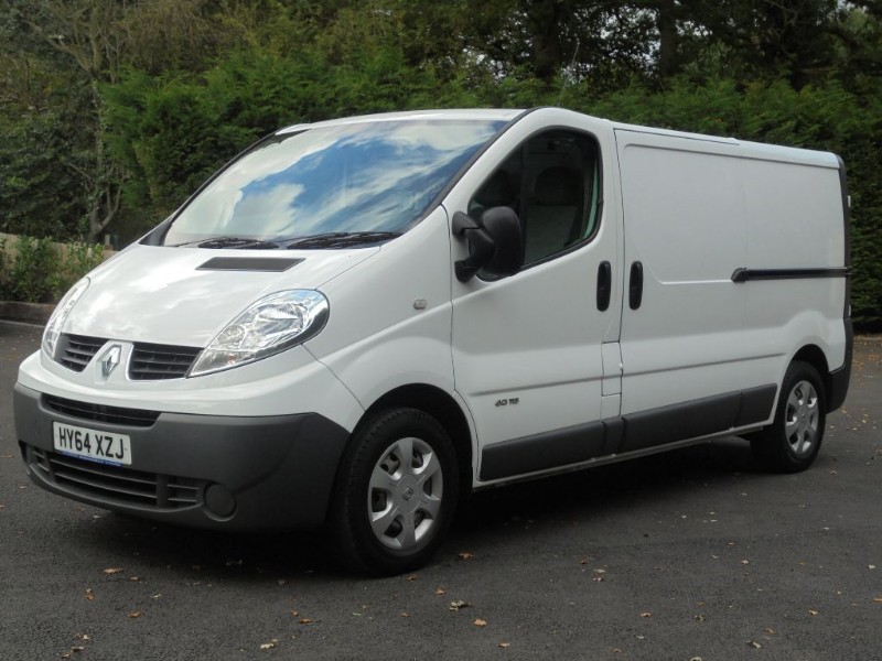 used Renault Trafic LL29 DCI S/R P/V in chelmsford-essex
