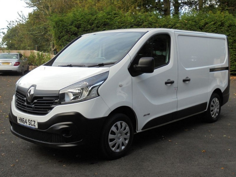 used Renault Trafic SL29 BUSINESS DCI S/R P/V in chelmsford-essex
