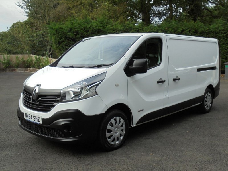 used Renault Trafic LL29 BUSINESS DCI S/R P/V in chelmsford-essex