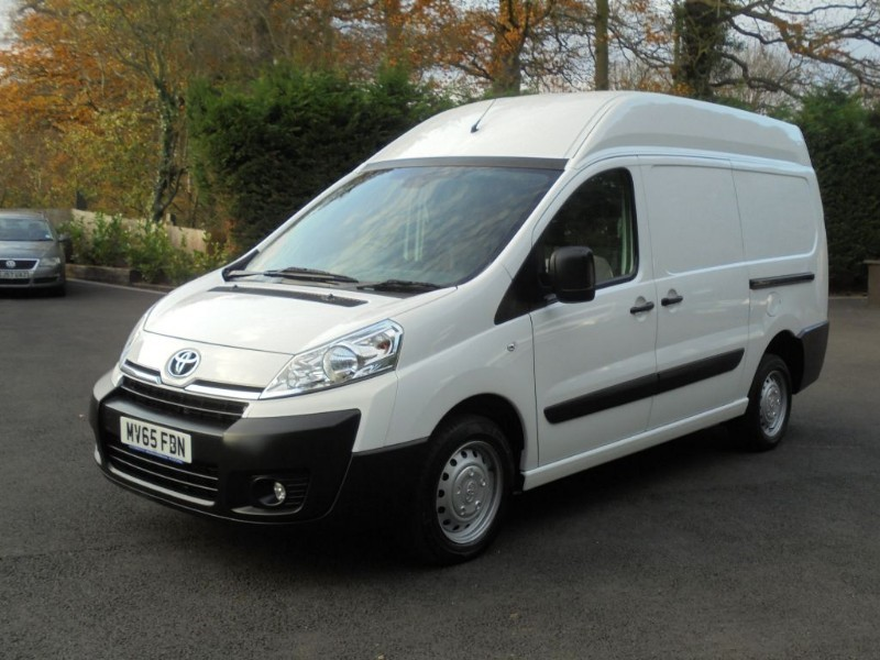 used Toyota Proace L2H2 HDI 1200 P/V H/R in chelmsford-essex