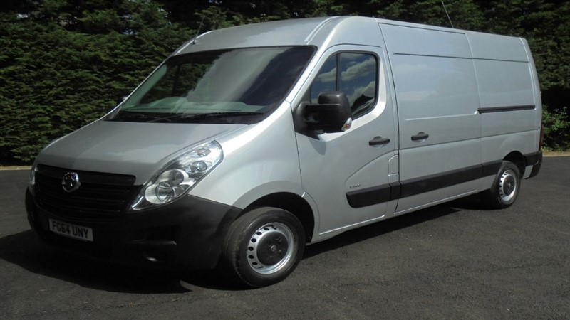 used Vauxhall Movano F3500 L2H2 P/V CDTI in chelmsford-essex