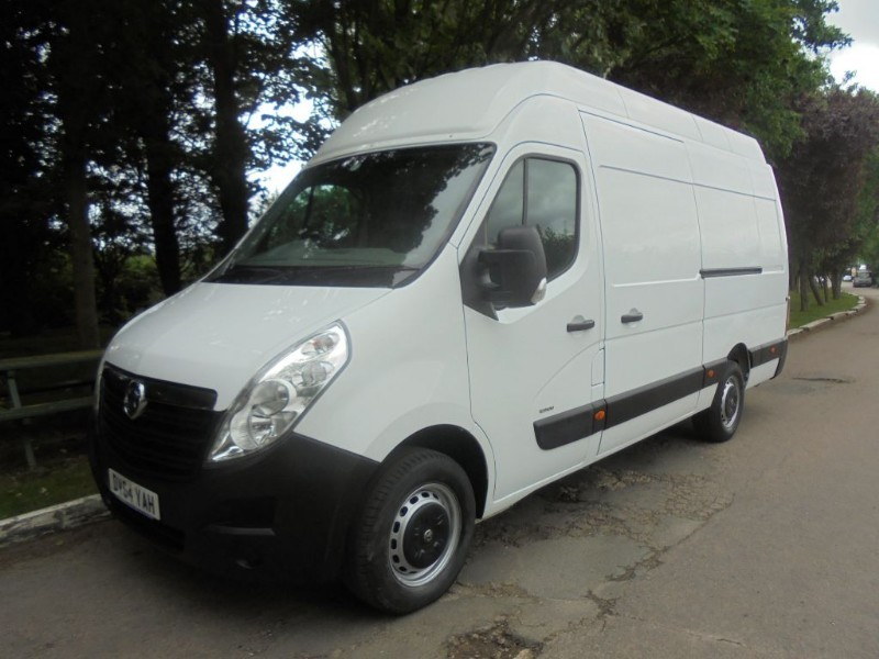 used Vauxhall Movano R3500 L3H3 P/V CDTI in chelmsford-essex