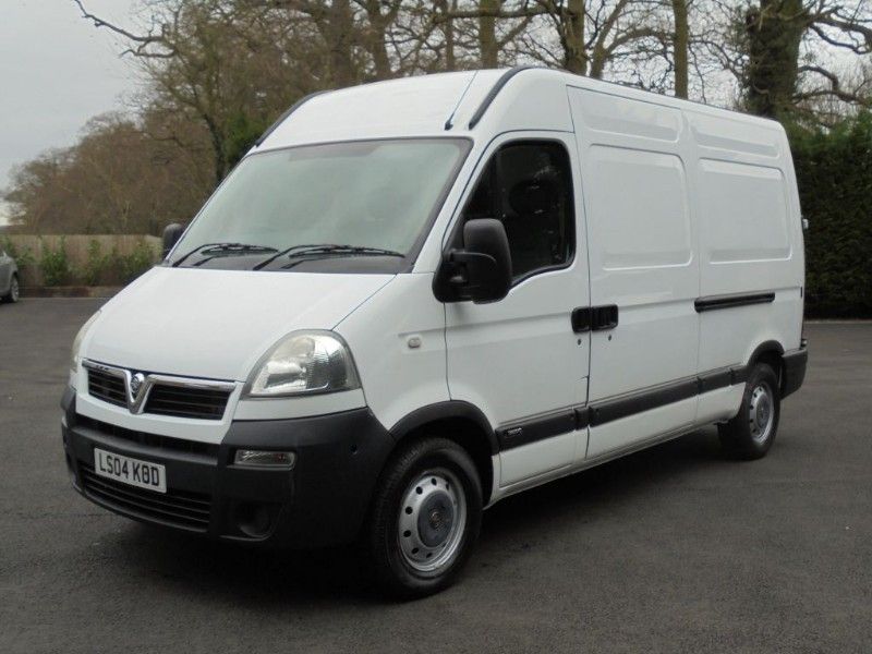 used Vauxhall Movano 3500 MWB H/R CDTI in chelmsford-essex