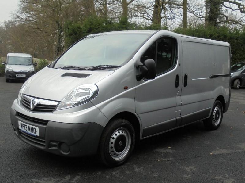 used Vauxhall Vivaro 2700 CDTI ECOFLEX in chelmsford-essex