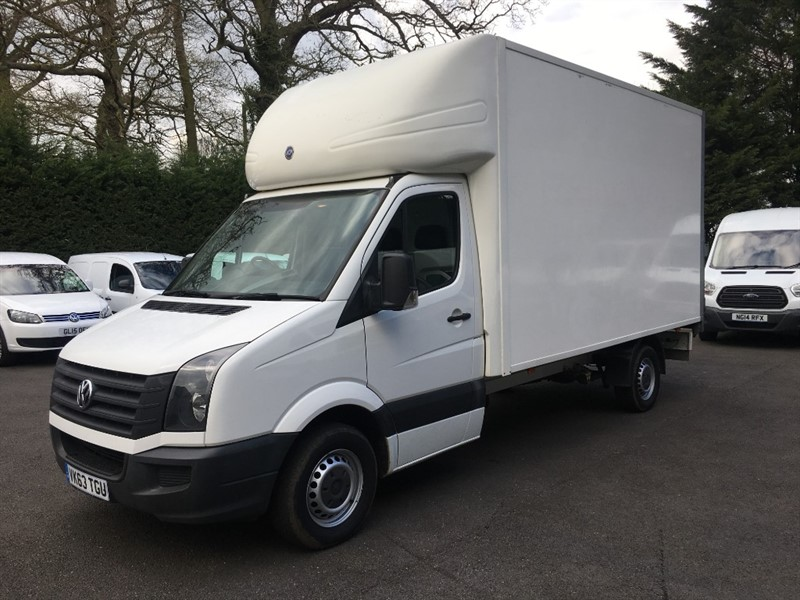 used VW Crafter CR35 TDI C/C in chelmsford-essex