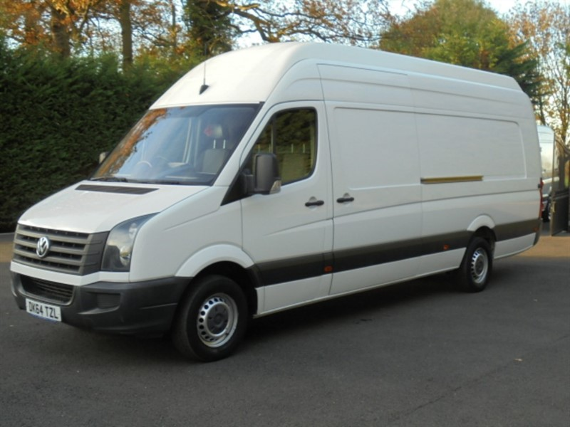 used VW Crafter CR35 TDI XTRA LWB XTRA HIGH ROOF in chelmsford-essex