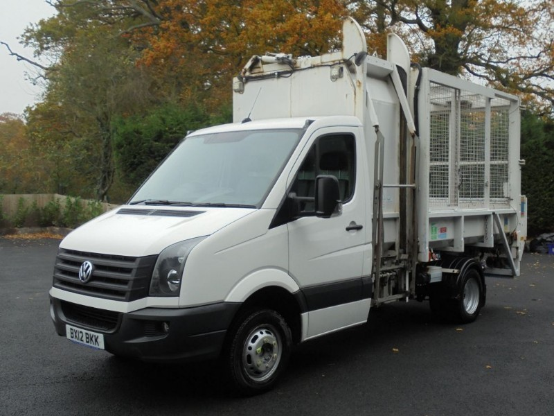 used VW Crafter CR50 TDI M 143 WITH BIN AND TAIL LIFT in chelmsford-essex