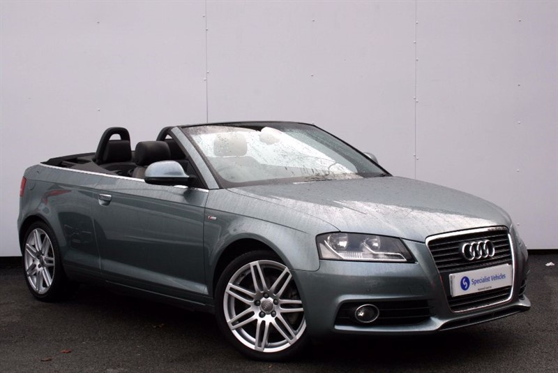 "used Audi A3 2.0 TFSi S-Line ~SAT NAV~BOSE SOUND~18""s~F & R PDC~HEATED LEATHER~BLUETOOTH in plymouth-devon"