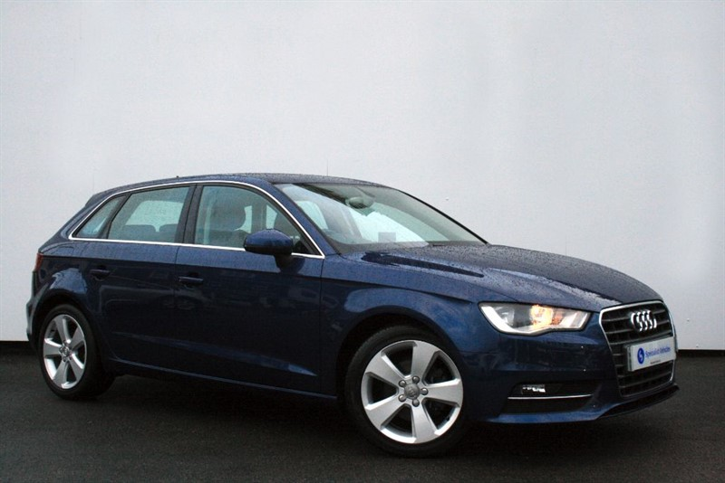 used Audi A3 2.0TDi Sport ~ SAT NAV~BLUETOOTH~USB~ONLY 1 OWNER~ONLY £20 TAX~FULL HISTORY in plymouth-devon