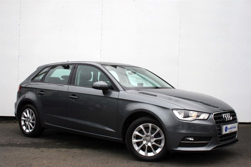 used Audi A3 2.0TDi SE~SAT NAV~BLUETOOTH~PDC~ONLY £30 TAX~ONLY 1 OWNER~FULL AUDI HISTORY in plymouth-devon