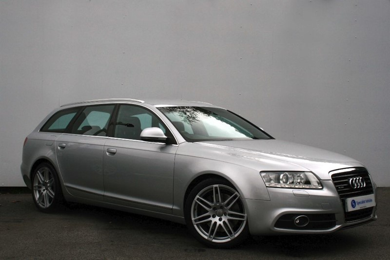 "used Audi A6 Avant 3.0TDi QUATTRO S-Line Special Edition~SAT NAV~HEATED LEATHER~19"" ALLOYS~FSH in plymouth-devon"