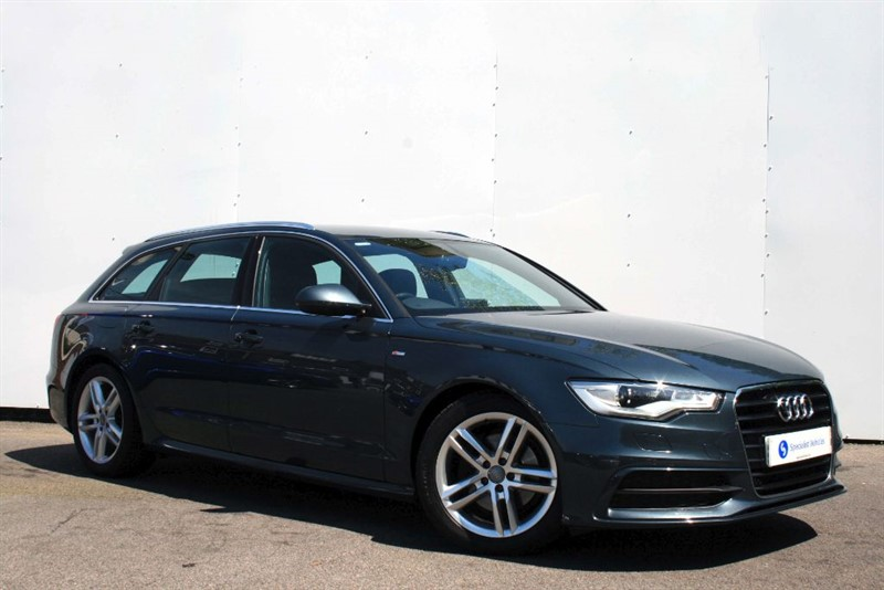 "used Audi A6 Avant 2.0TDi S-Line ~SAT NAV~HEATED LEATHER~18""s~CRUISE~BOSE~DAB~BLUETOOTH~XENONS in plymouth-devon"