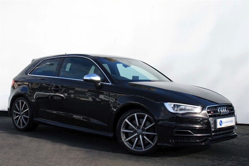 """used Audi S3 2.0TFSi QUATTRO~SAT NAV~HEATED LEATHER~18"""" ALLOYS~ONLY 1 OWNER~AUDI HISTORY in plymouth-devon"""
