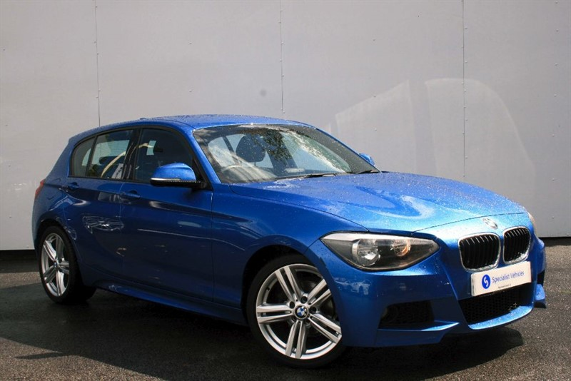 """used BMW 116d M Sport ~ 18"""" ALLOYS~BLUETOOTH~DAB~USB~BMW SERVICE PACK~ONLY £30 ROAD TAX in plymouth-devon"""