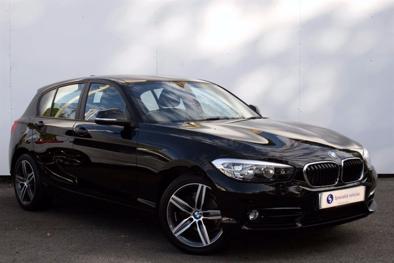 """used BMW 116d Sport~SATELLITE NAVIGATION~17"""" ALLOYS~DAB~CRUISE~ONLY £20 ROAD TAX  in plymouth-devon"""