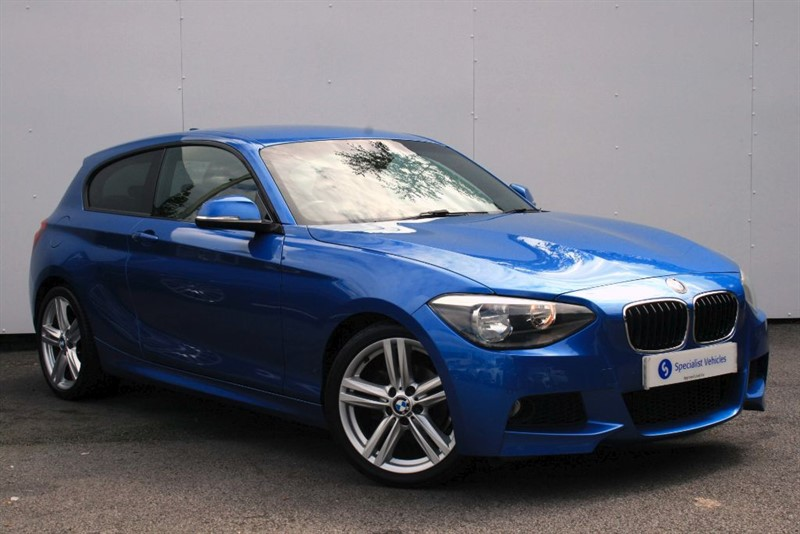 """used BMW 116i M Sport ~ 18"""" ALLOY WHEELS~PRIVACY GLASS~CRUISE CONTROL~PDC~USB~BMW HISTORY in plymouth-devon"""