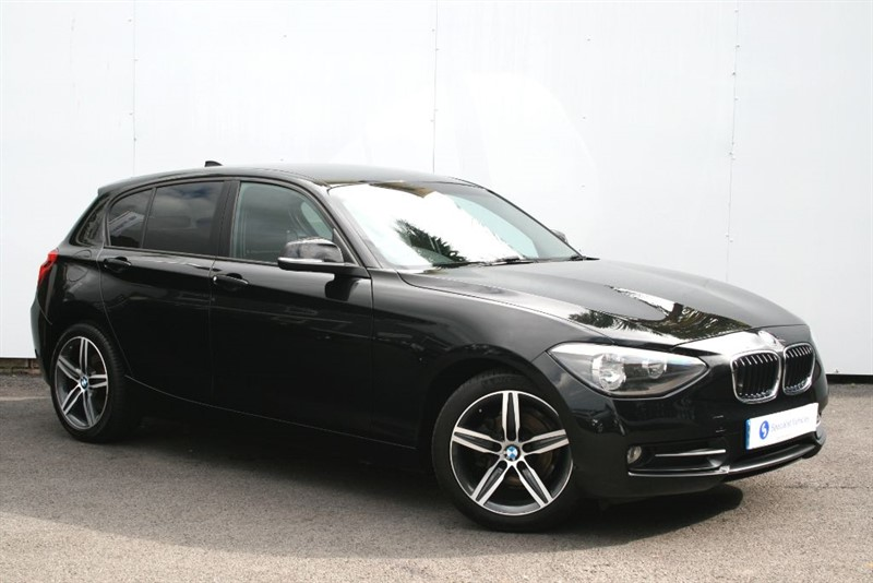 used BMW 118d Sport ~HEATED LEATHER~PRIVACY GLASS~BLUETOOTH~ONLY £30 TAX~FULL BMW HISTORY in plymouth-devon