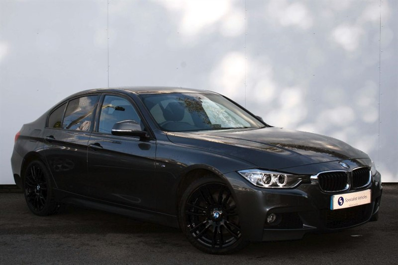 """used BMW 330d xDrive M Sport~PRO SAT NAV~HEATED LEATHER~CRUISE~BLUETOOTH~19""""s~PDC in plymouth-devon"""